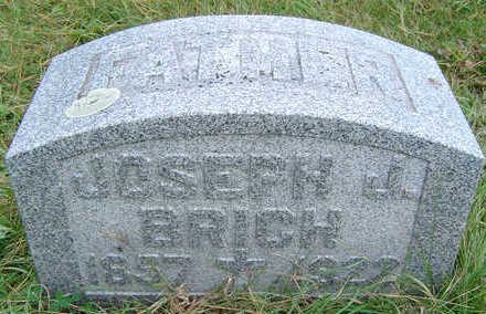 BRICH, JOSEPH J. - Clayton County, Iowa | JOSEPH J. BRICH
