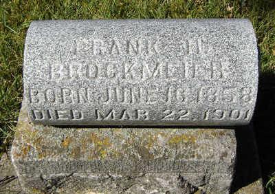 BROCKMEYER, FRANK H. - Clayton County, Iowa | FRANK H. BROCKMEYER