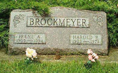 SYKES BROCKMEYER, IRENE ALICE - Clayton County, Iowa | IRENE ALICE SYKES BROCKMEYER