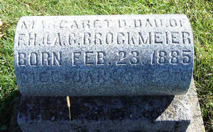 BROCKMEYER, MARGARET D. - Clayton County, Iowa | MARGARET D. BROCKMEYER