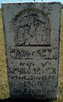 BROOKS, MARGARET - Clayton County, Iowa   MARGARET BROOKS