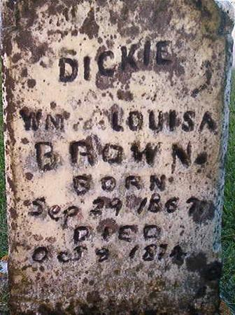 BROWN, DICKIE - Clayton County, Iowa | DICKIE BROWN