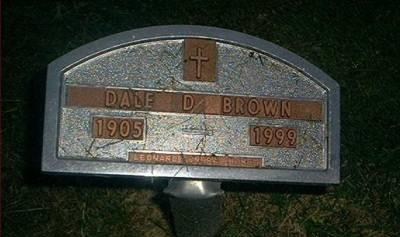 BROWN, DALE D. - Clayton County, Iowa | DALE D. BROWN