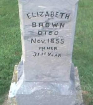 BROWN, ELIZABETH - Clayton County, Iowa | ELIZABETH BROWN
