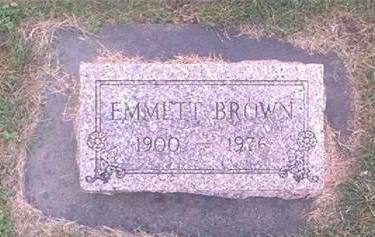 BROWN, EMMETT - Clayton County, Iowa | EMMETT BROWN