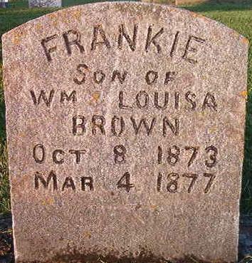 BROWN, FRANKIE - Clayton County, Iowa | FRANKIE BROWN