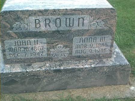BROWN, JOHN H. & ANNA M. - Clayton County, Iowa | JOHN H. & ANNA M. BROWN