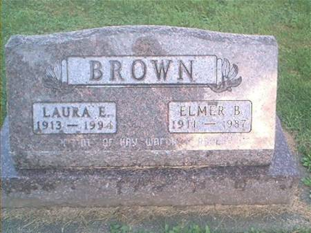 BROWN, ELMER B. & LAURA E. - Clayton County, Iowa | ELMER B. & LAURA E. BROWN