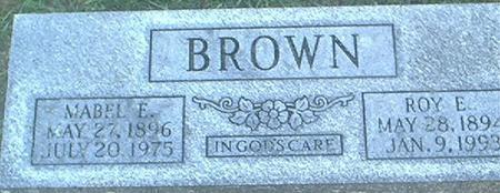 BROWN, MABEL E. - Clayton County, Iowa | MABEL E. BROWN