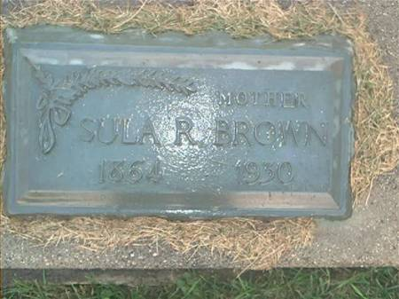BROWN, SULA R. - Clayton County, Iowa | SULA R. BROWN