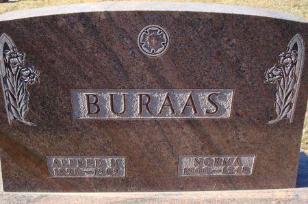 BURAAS, NORMA - Clayton County, Iowa   NORMA BURAAS