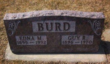 BURD, GUY R. - Clayton County, Iowa | GUY R. BURD