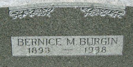SMITH BURGIN, BERNICE M. - Clayton County, Iowa | BERNICE M. SMITH BURGIN