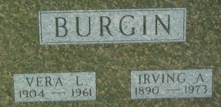 BURGIN, IRVING A. - Clayton County, Iowa | IRVING A. BURGIN