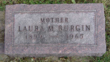 BURGIN, LAURA M. - Clayton County, Iowa | LAURA M. BURGIN
