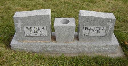 BURGIN, PAULINE M. - Clayton County, Iowa | PAULINE M. BURGIN
