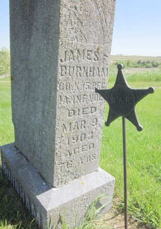 BURNHAM, JAMES F. - Clayton County, Iowa | JAMES F. BURNHAM