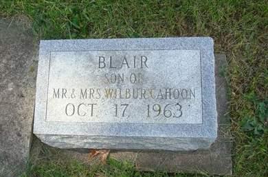 CAHOON, BLAIR - Clayton County, Iowa | BLAIR CAHOON