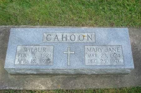 CAHOON, WILBER - Clayton County, Iowa | WILBER CAHOON