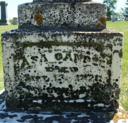 CANDEE, ASA - Clayton County, Iowa | ASA CANDEE