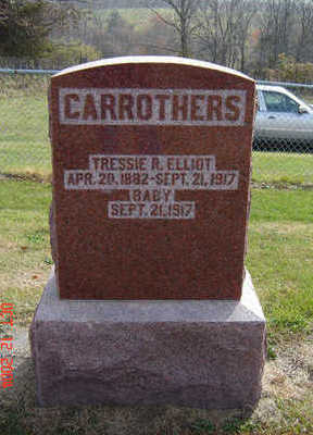 CARROTHERS, BABY - Clayton County, Iowa | BABY CARROTHERS