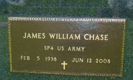 CHASE, JAMES WILLIAM - Clayton County, Iowa | JAMES WILLIAM CHASE