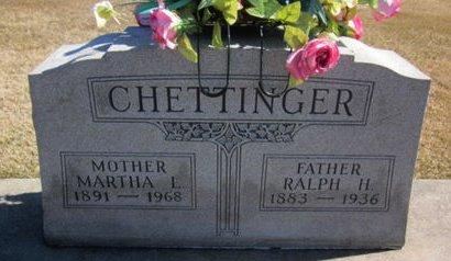 CHETTINGER, RALPH H. - Clayton County, Iowa | RALPH H. CHETTINGER