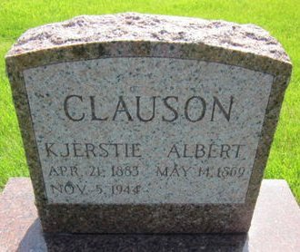 CLAUSON, ALBERT - Clayton County, Iowa | ALBERT CLAUSON