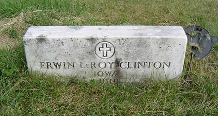 CLINTON, ERWIN LEROY - Clayton County, Iowa | ERWIN LEROY CLINTON