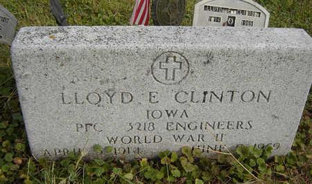 CLINTON, LLOYD E. - Clayton County, Iowa | LLOYD E. CLINTON