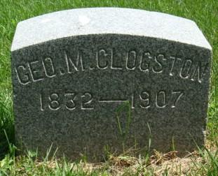 CLOGSTON, GEORGE M. - Clayton County, Iowa | GEORGE M. CLOGSTON