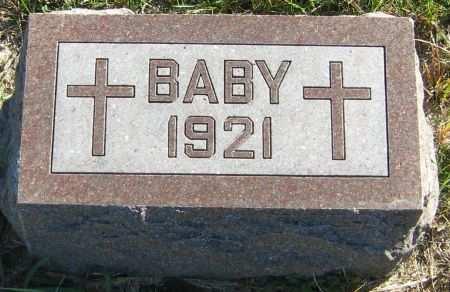 CONBOY, BABY - Clayton County, Iowa | BABY CONBOY