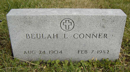 CONNER, BEULAH L. - Clayton County, Iowa   BEULAH L. CONNER