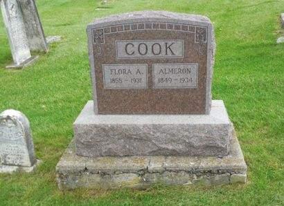COOK, FLORA A. - Clayton County, Iowa | FLORA A. COOK