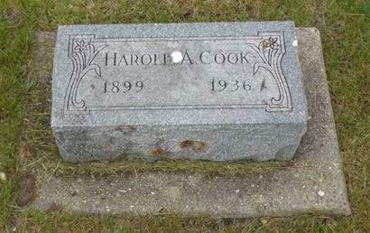 COOK, HAROLD A. - Clayton County, Iowa   HAROLD A. COOK