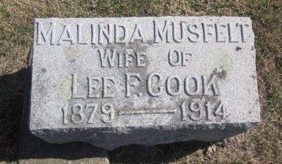 COOK, MALINDA - Clayton County, Iowa | MALINDA COOK