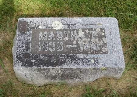 COOLEY, MARTHA F. - Clayton County, Iowa | MARTHA F. COOLEY