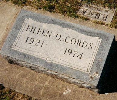 CORDS, EILEEN - Clayton County, Iowa | EILEEN CORDS