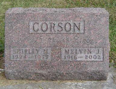 CORSON, SHIRLEY M. - Clayton County, Iowa   SHIRLEY M. CORSON