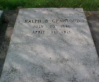 CRAWFORD, RALPH B - Clayton County, Iowa   RALPH B CRAWFORD