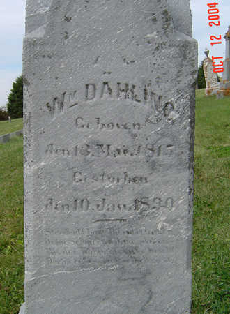 DAHLING, WILLIAM - Clayton County, Iowa | WILLIAM DAHLING