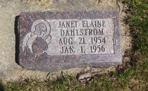 DAHLSTROM, JANET ELAINE - Clayton County, Iowa   JANET ELAINE DAHLSTROM