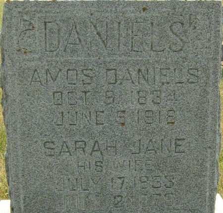DANIELS, SARAH JANE - Clayton County, Iowa | SARAH JANE DANIELS