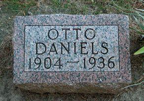 DANIELS, OTTO - Clayton County, Iowa | OTTO DANIELS