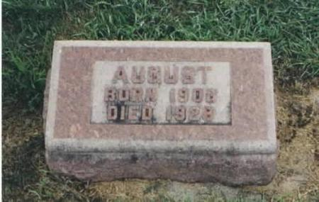DANNENBRING, AUGUST - Clayton County, Iowa   AUGUST DANNENBRING