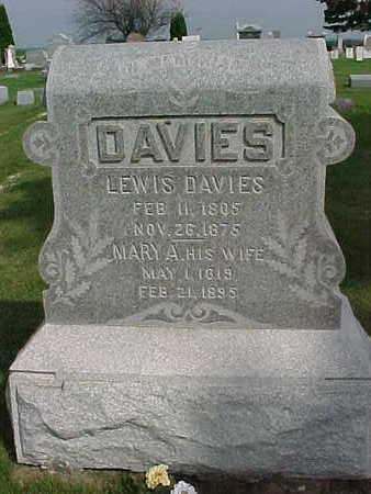 DAVIES, MARY A. - Clayton County, Iowa | MARY A. DAVIES