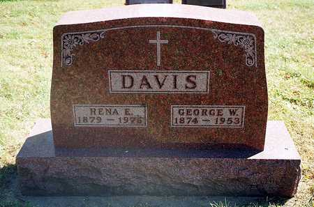 DAVIS, GEORGE W. - Clayton County, Iowa | GEORGE W. DAVIS