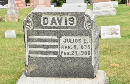 DAVIS, JULIUS E. - Clayton County, Iowa | JULIUS E. DAVIS