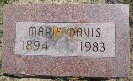 DAVIS, MARIE - Clayton County, Iowa | MARIE DAVIS