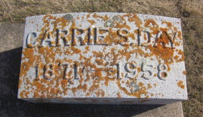 DAY, CARRIE S. - Clayton County, Iowa | CARRIE S. DAY